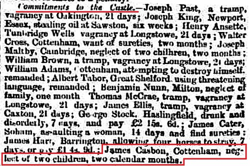 Cambridge Chronicle 10Sep1870