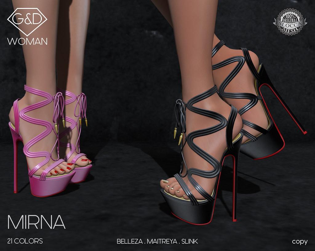 G&D Sandals Mirna 01 adv - TeleportHub.com Live!