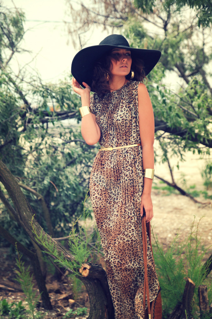 leopard dress1