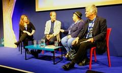 Edinburgh International Book Festival 2017 - Farah Mendlesohn Adam Roberts Jo Walton & Ken MacLeod 05