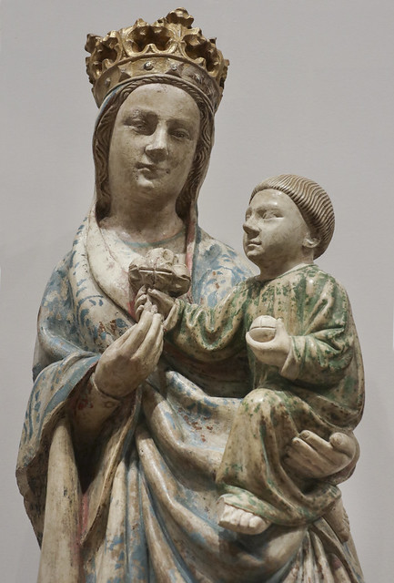 The Virgin and Child, ca. 1450, atributed Joao Afonso, active 1439-1469