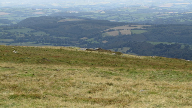 Granate Tor from the cairn near Branscombe's Loaf