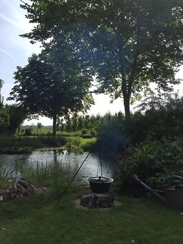 workshop Tuingeheimen Viltwerkplaats Odijk natural dyeing Eco verf