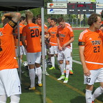 MSOC getting set before game (Sept 2, 2017 Read)