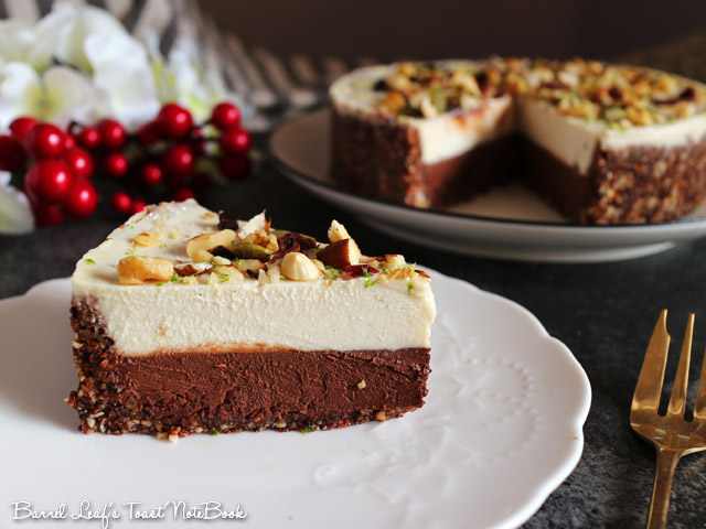 全素雙層黑白巧克力榛果派 vegan-double-chocolate-hazelnut-layered-pie (13)