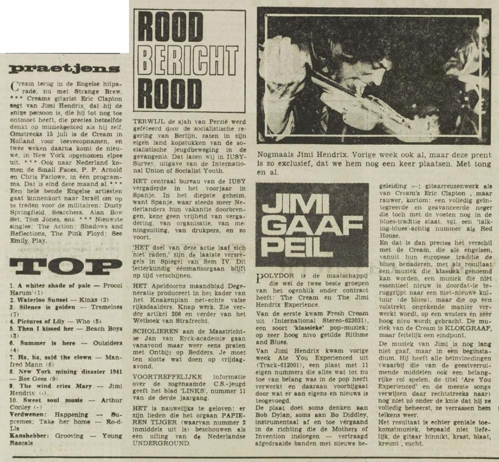 HET VRIJE VOLK (NETHERLANDS) JUNE 23, 1967