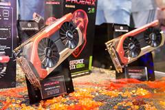 GeForce Phoenix Grafikkarten von Gainward bei der Gamescom 2017