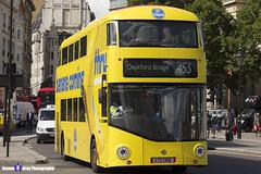 Wrightbus NRM NBFL - LTZ 1306 - LT306 - Chiquita Bananas - Deptford Bridge 453 - Go Ahead London - London 2017 - Steven Gray - IMG_8653