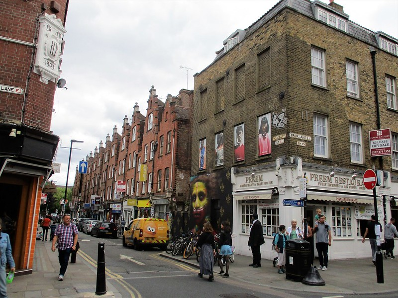 Hanbury Street and Brick Lane