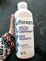 Blueberry-Flavored Cashew Kefir