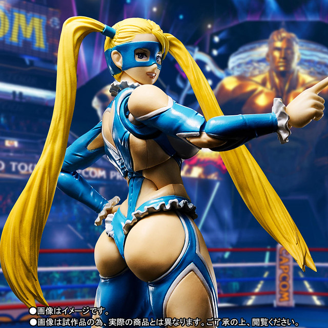巨臀現身!!S.H.Figuarts 快打旋風【彩虹美華】Street Fighter Rainbow Mika レインボー・ミカ