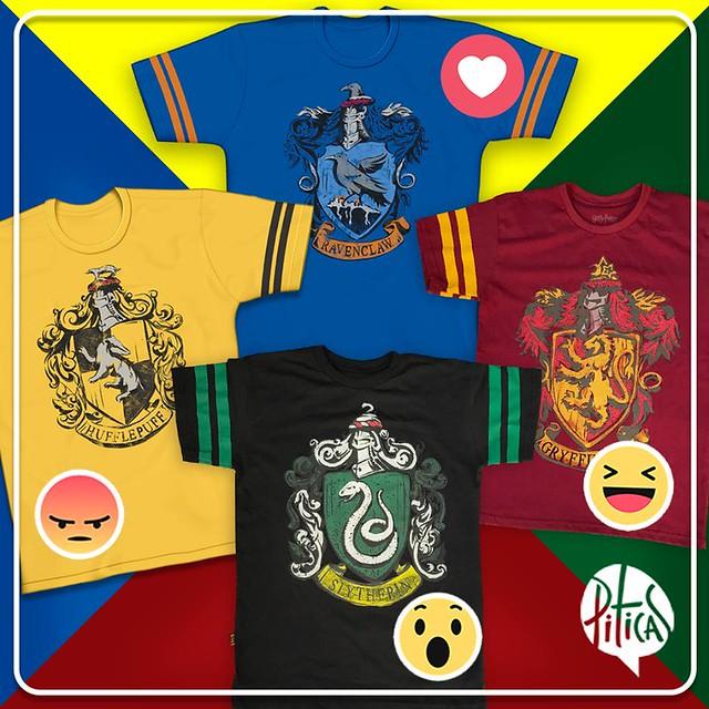 Piticas - Camisetas das Casas