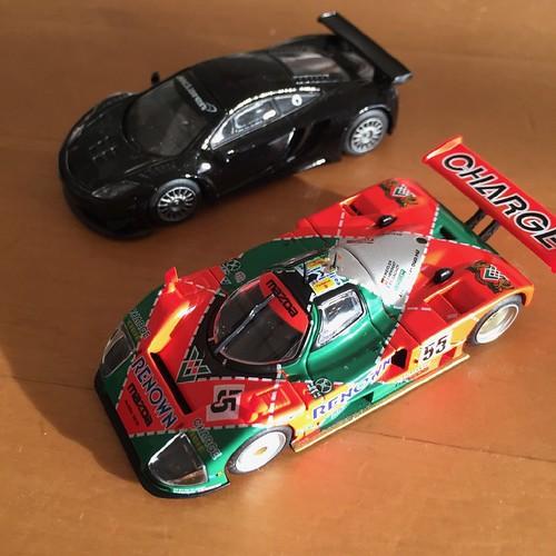 TOMYTEC(トミーテック) マツダ787B 1991ル・マン優勝車 (ミニカー)
