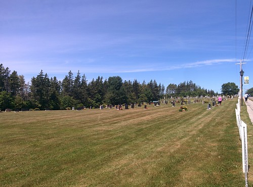 Approaching Cavendish Cemetery #pei #princeedwardisland #cavendish #cavendishcemetery #latergram