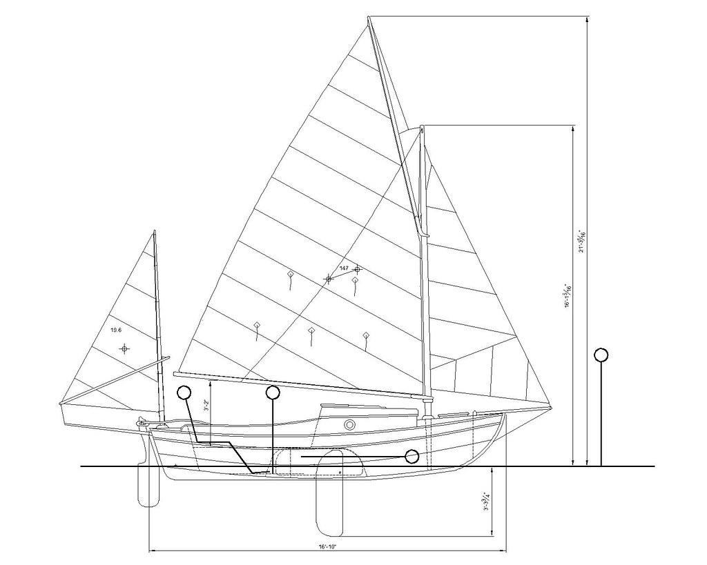 Small Daysailer Camp Cruiser