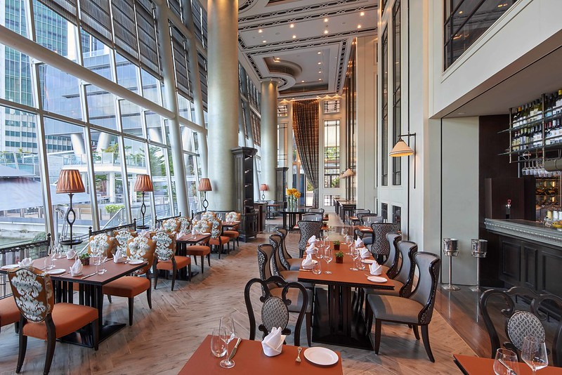 La Brasserie Salon (courtesy of Fullerton Bay Hotel)