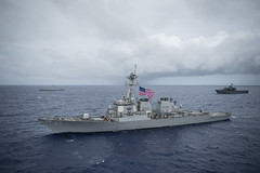August 2017 file photo of USS Benfold (DDG 65). (U.S. Navy/MC1 Benjamin A. Lewis)