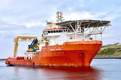 Normand Pioneer - Aberdeen Harbour Scotland 14/9/17