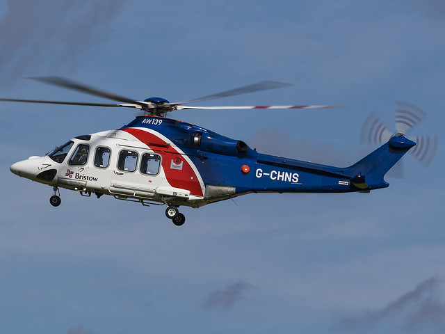 Bristow Helicopters | AgustaWestland AW139 | G-CHNS