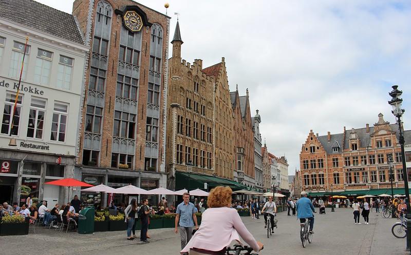 Main square, Brugge, Belgium