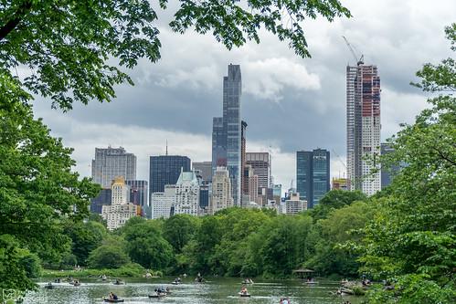 Central Park Skyline NYC