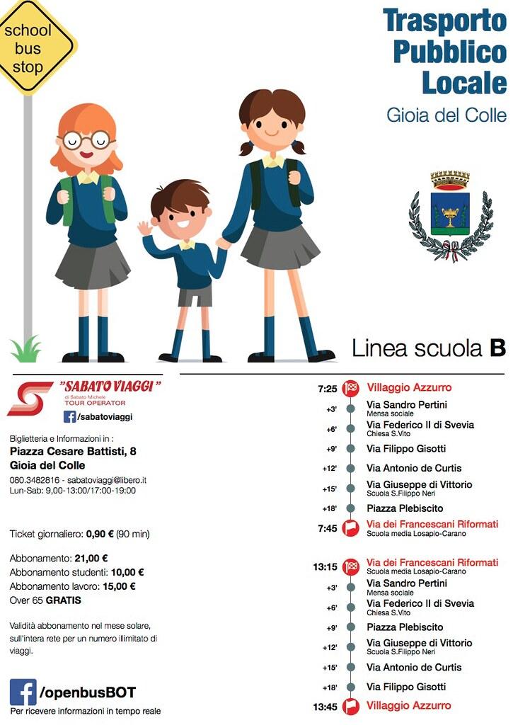 2 bus scuola line A
