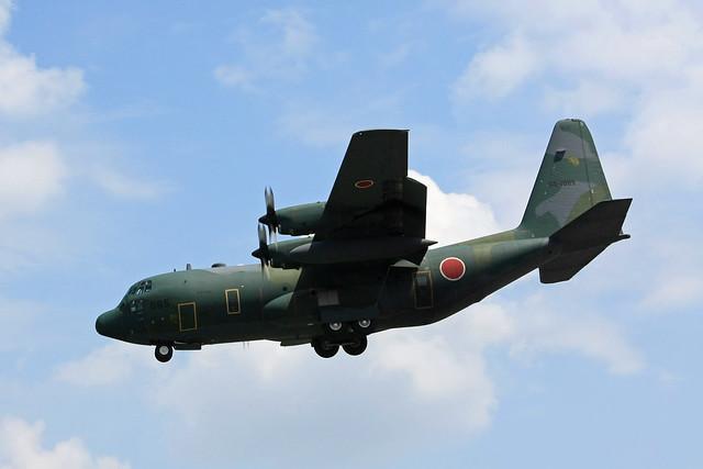 第401飛行隊 C-130H 05-1085 IMG_5836_2