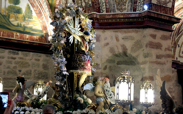 PROCESIÓN CRISTO DE SANA ANA 2017-FIESTAS VILLAFRANCA (TOLEDO)
