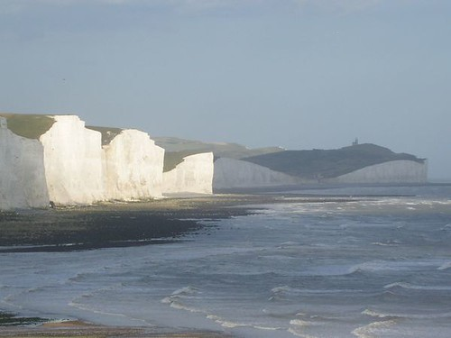 View of Birling Gap from Hope Gap