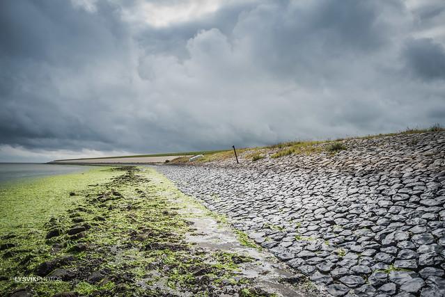 Zeedijk Oosterend op Texel