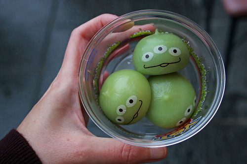 Little Green Men mochi