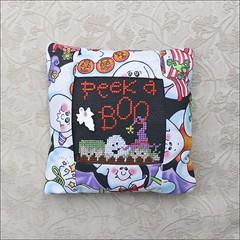 Peek a Boo pillow