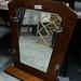 Mirror mahogany E30