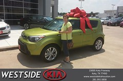 #HappyBirthday to Patricia from Boris Landry at Westside Kia!