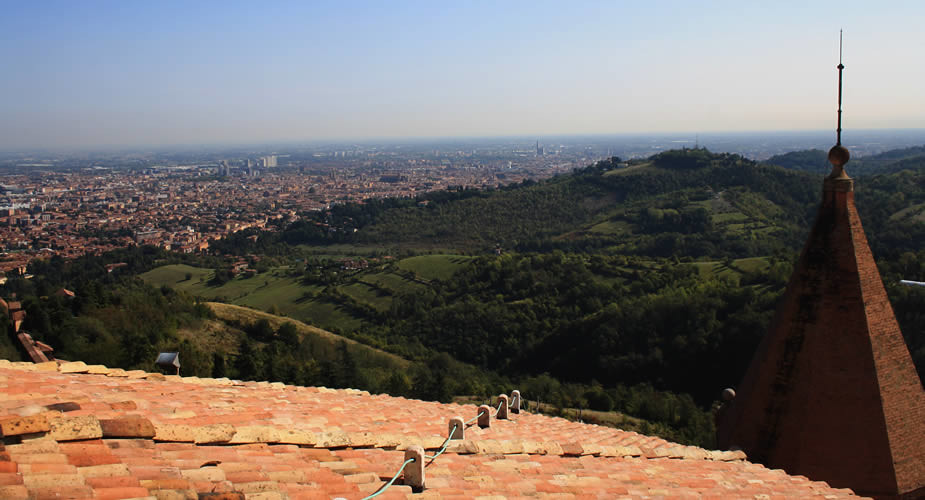Bezienswaardigheden in Bologna: Sanctuary of the Madonna di San Luca | Mooistestedentrips.nl