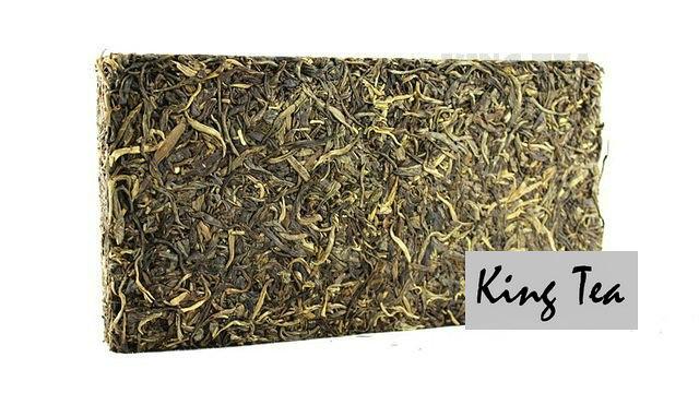 Free Shipping 2012 ShuangJiang MENGKU Iceland's Golden Brick Zhuan 1000g  China YunNan Chinese Puer Puerh Raw Tea Sheng Cha