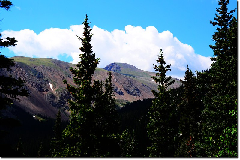 James Peak from Crater Lakes Trail