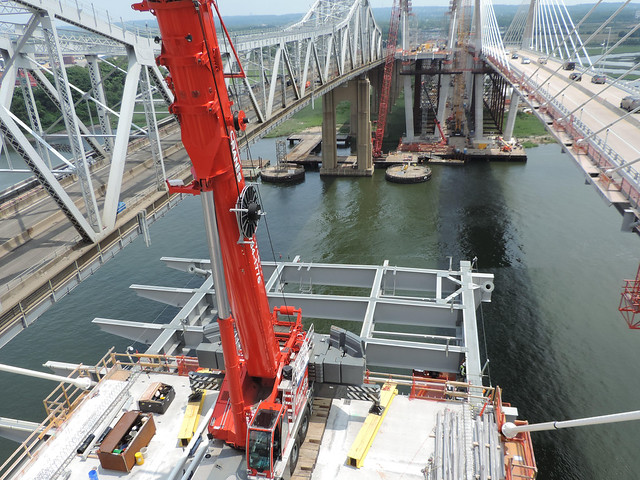 Goethals Bridge Replacement Project - Progress - June 2017