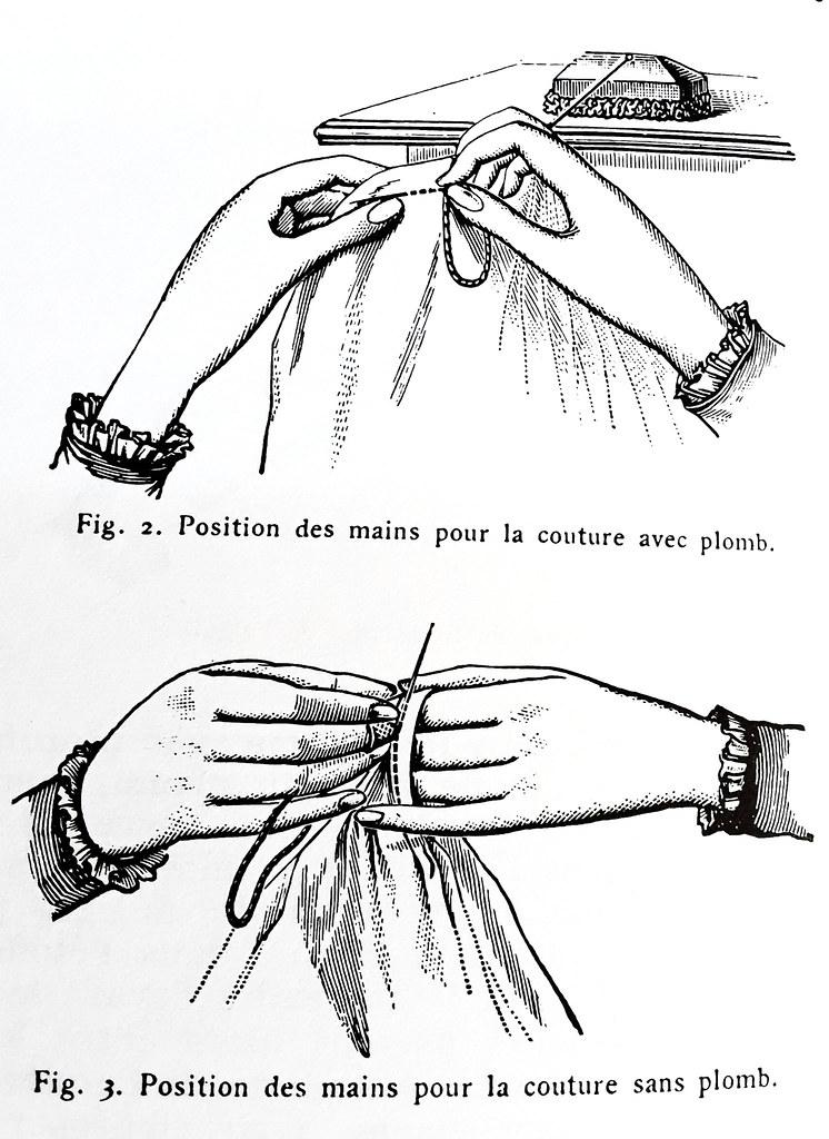 Couture à la main