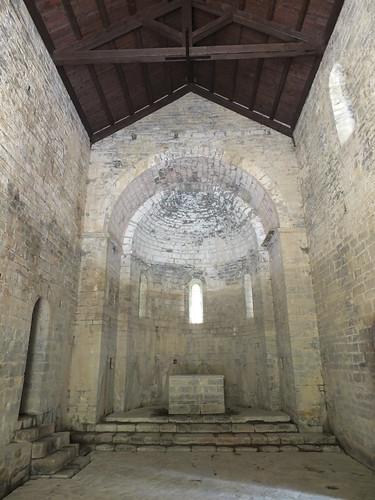Iglesia de San Adrián de Sásave - Interior