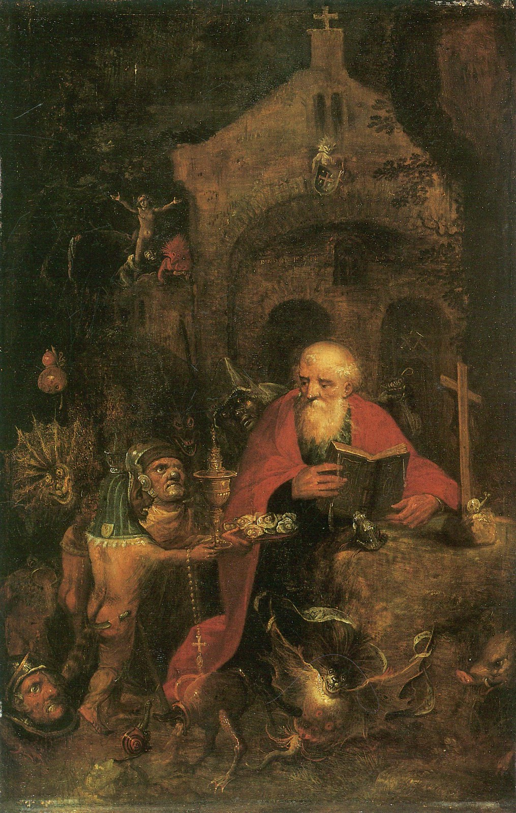 Frans Francken the Younger - The  Temptation of Saint Anthony, 1605