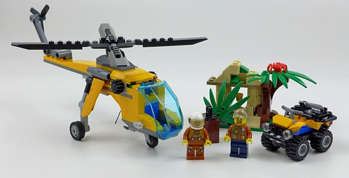 LEGO City Jungle 60158 Jungle Cargo Helicopter 51