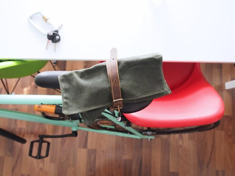 Für Kleinkram ist die gewachste Tasche eine feine Sache!