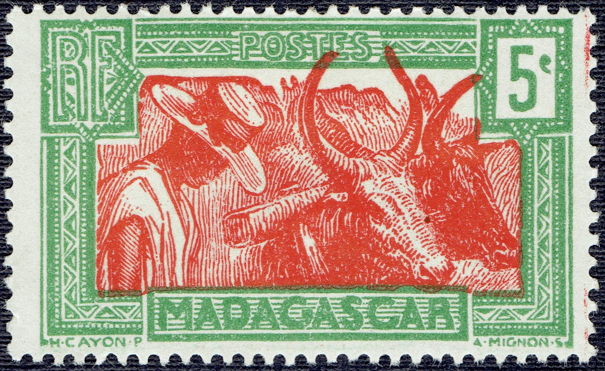Madagascar #150 (1930)