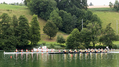 2017 World Rowing Cup Final on the Rotsee, Lucerne, Switzerland
