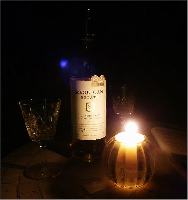 Chardonnay by candlelight Explored, Panasonic DMC-TZ25