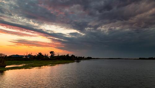 6d sunset bigbreak big break ca canon sky clouds delta light