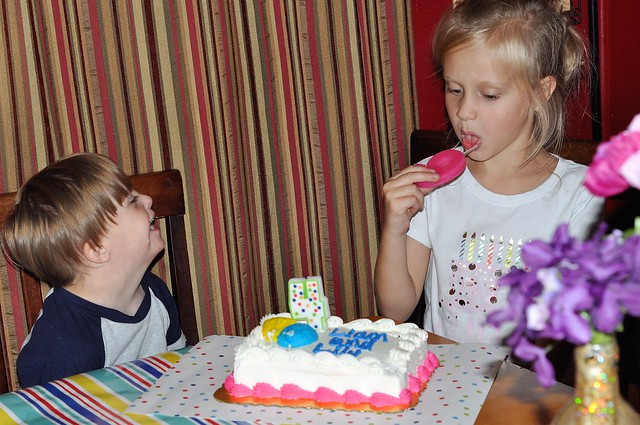 Combined Gender Neutral Birthday Party for Siblings