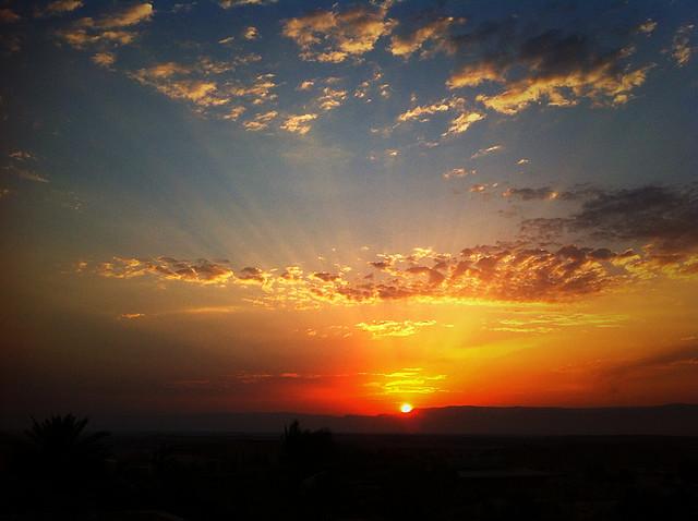 Sunrise in Zukim
