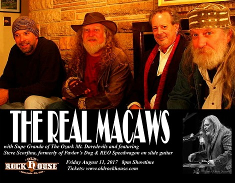 The Real Macaws 8-11-17